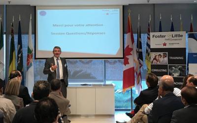 Rencontre à l'Ambassade du Canada